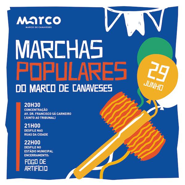 Marchas Populares do Marco. Rios de Emoção.