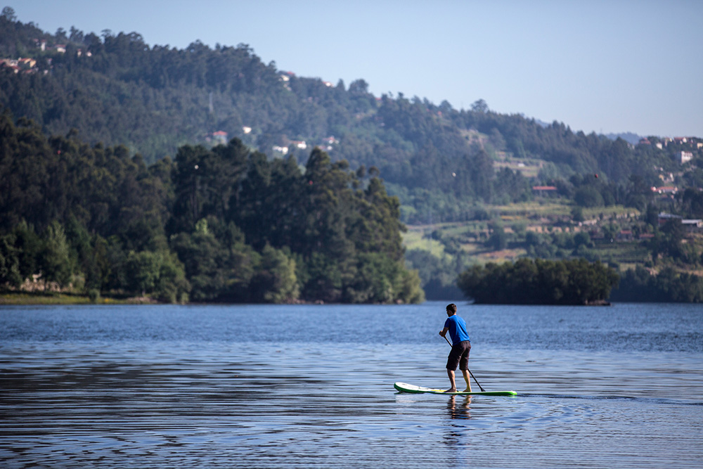 Stand up Paddle no rio Douro