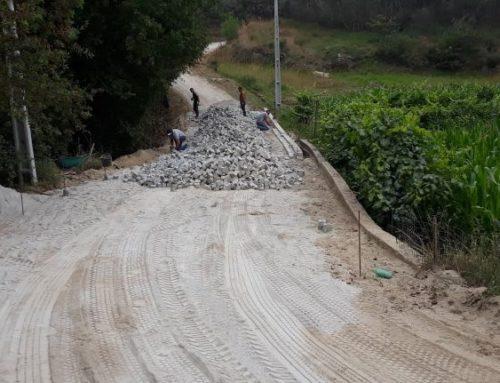 Pavimentação da Rua de Barreiros. Obra de proximidade na freguesia do Marco