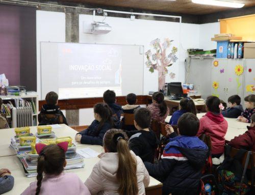 Programa da IRIS explica Inovação Social a 55 crianças do Marco de Canaveses