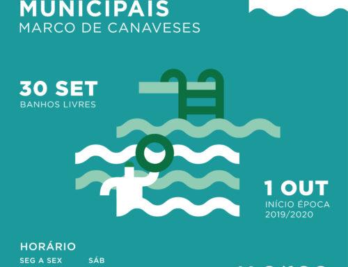 Piscinas Municipais do Marco de Canaveses abrem no dia 30 de setembro