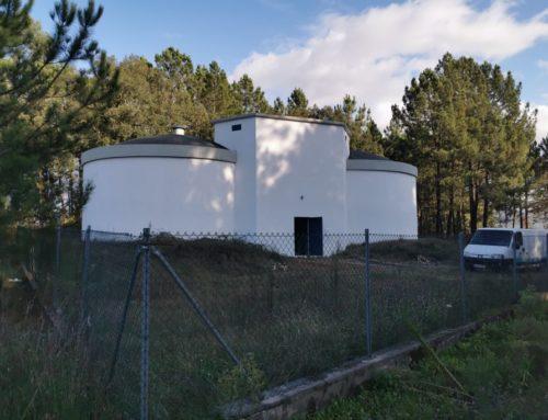 Reservatório de Toutosa em funcionamento mais de 15 anos depois de construído.