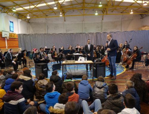 Concerto Pedagógico da Orquestra do Norte demonstra música clássica a 300 alunos