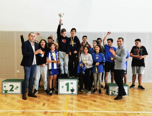 120 Alunos participam no Torneio Municipal de Voleibol