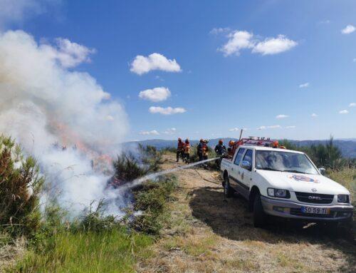 Entre janeiro e julho arderam menos hectares de terreno no concelho