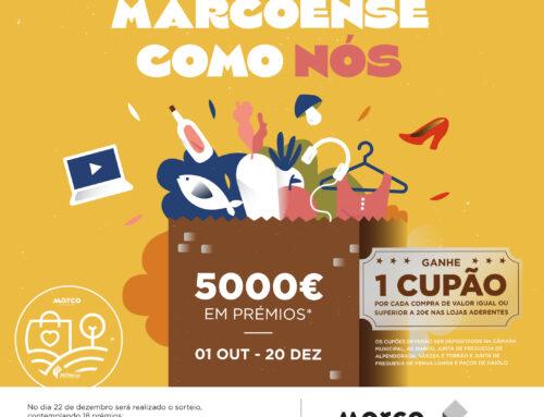 Câmara do Marco de Canaveses e AE Marco lançam concurso para apoiar o comércio local