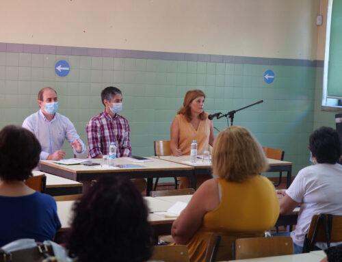 Cristina Vieira reúne com cada Agrupamento de  Escolas antes do arranque do Ano Letivo