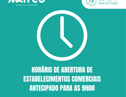 Horário de abertura de estabelecimentos comerciais antecipado para as 9h00