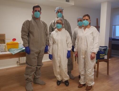Município colabora na vacinação nos Lares de Marco de Canaveses