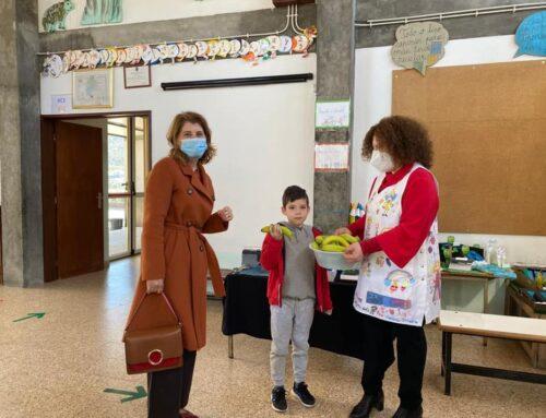 Câmara Municipal distribui fruta e hortícolas nas escolas