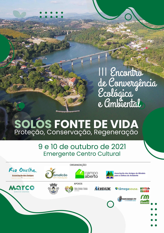 III Encontro de Convergência Ecológica e Ambiental, Emergente Centro Cultural, Marco de Canaveses