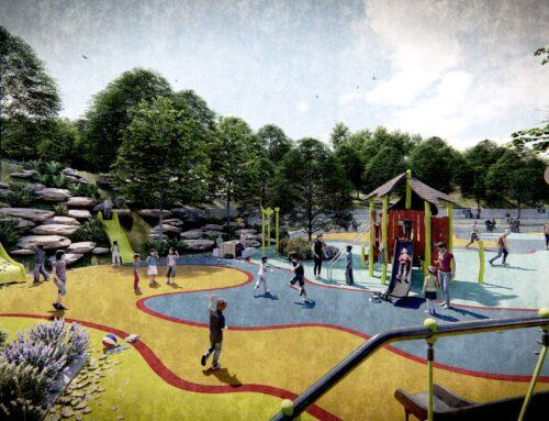 Município abriu concurso para a construção do futuro Parque Urbano da Cidade